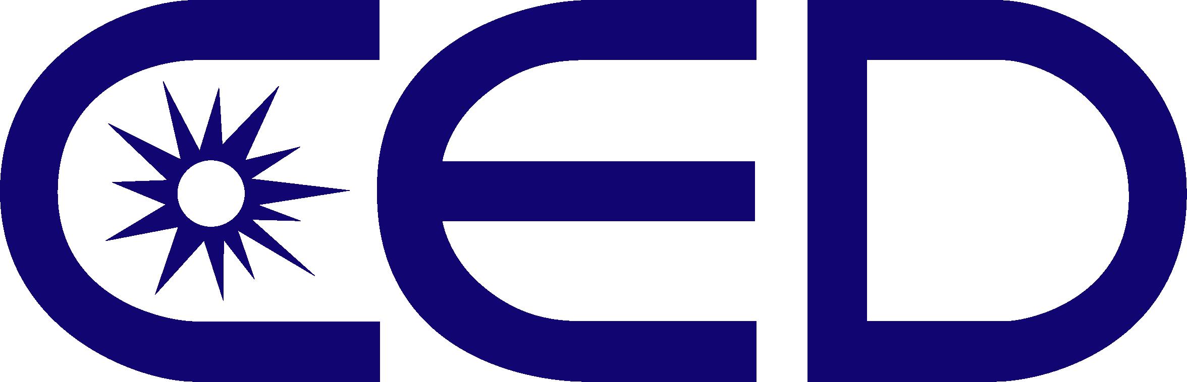 CED company logo