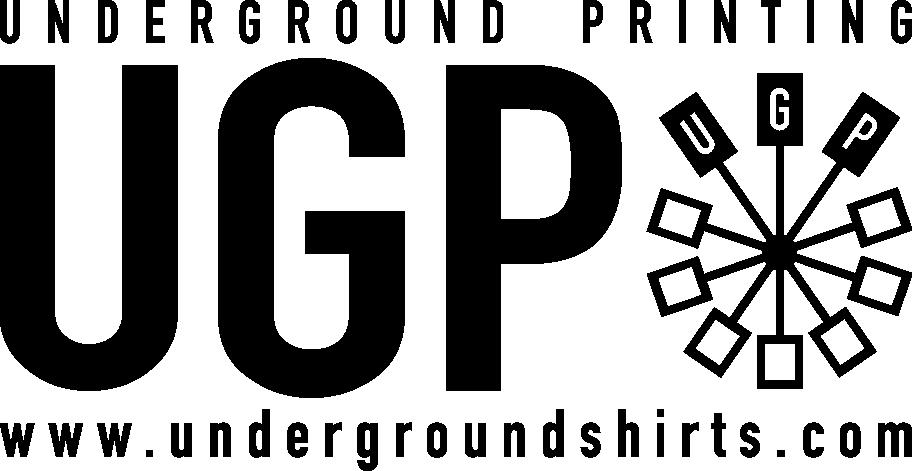 underground printing company logo